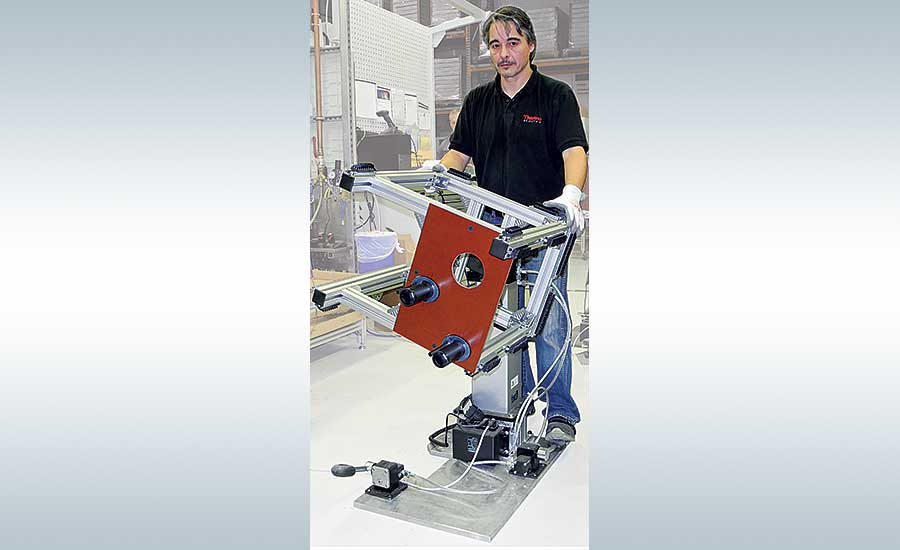 Positioning Equipment Improves Ergonomics for Medical Device Assembler