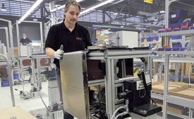Positioning Equipment Improves Ergonomics for Medical Device Assembler