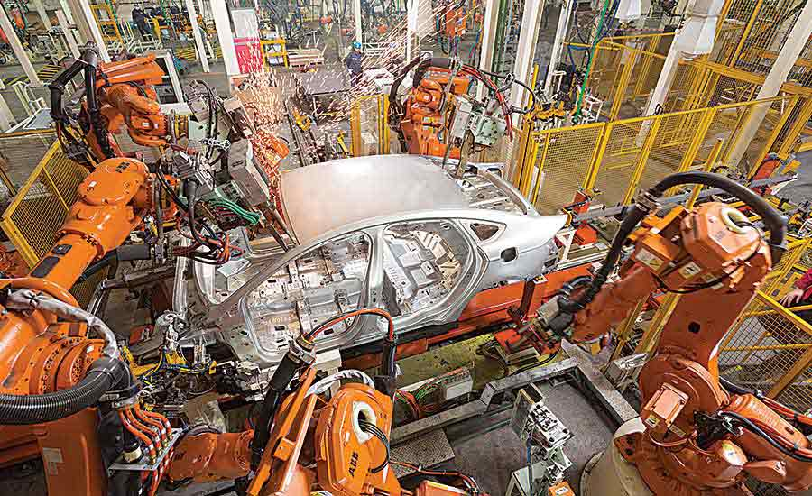 BIW welding line boosts Ford's flexibility in China