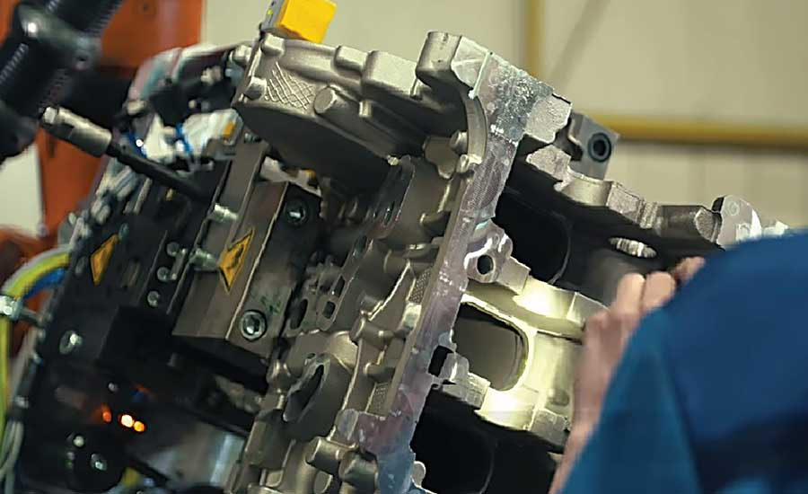 Collaboration Ensures Quality Crankshaft Housings at BMW