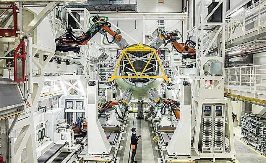 Airbus harnesses automation to boost fuselage production