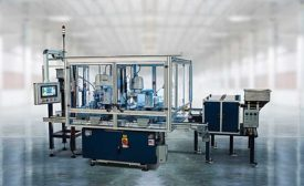 Robots assemble hydraulic valves