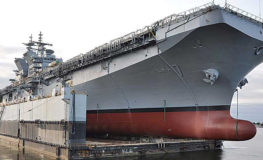 Welding System Sharpens Shipbuilder's Future Focus