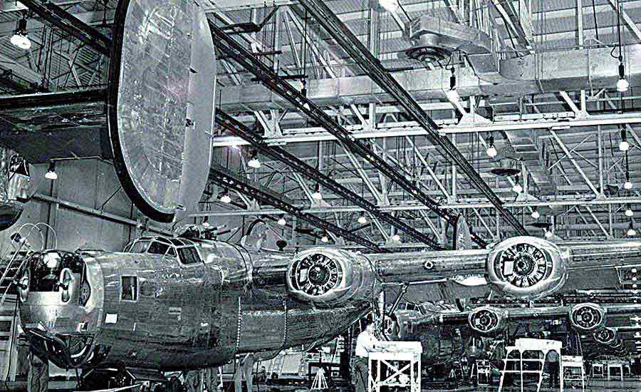 How Ford's Willow Run Assembly Plant Helped Win World War II