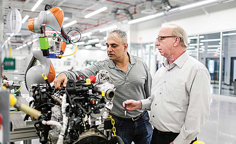 New Ford R&D center showcases advanced manufacturing tools