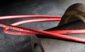 Ink-Jets for Marking Wire