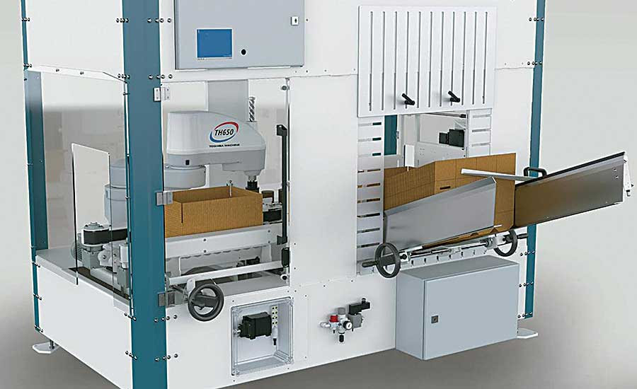 TM Robot Automates Packaging in Small Footprint