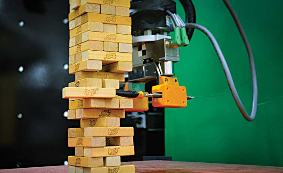 MIT Robot Uses Vision and Touch to Play Jenga