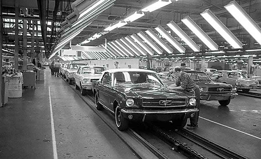 Ford's Rouge Assembly Plant Turns 100