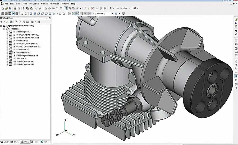 Toyoda Iron Works streamlines design with 3D software