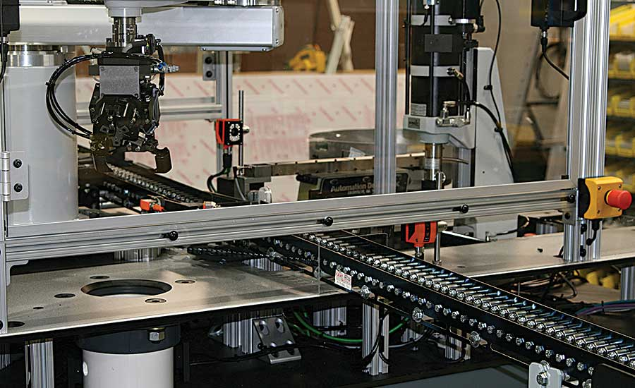 Integrating Presses Into Assembly Systems