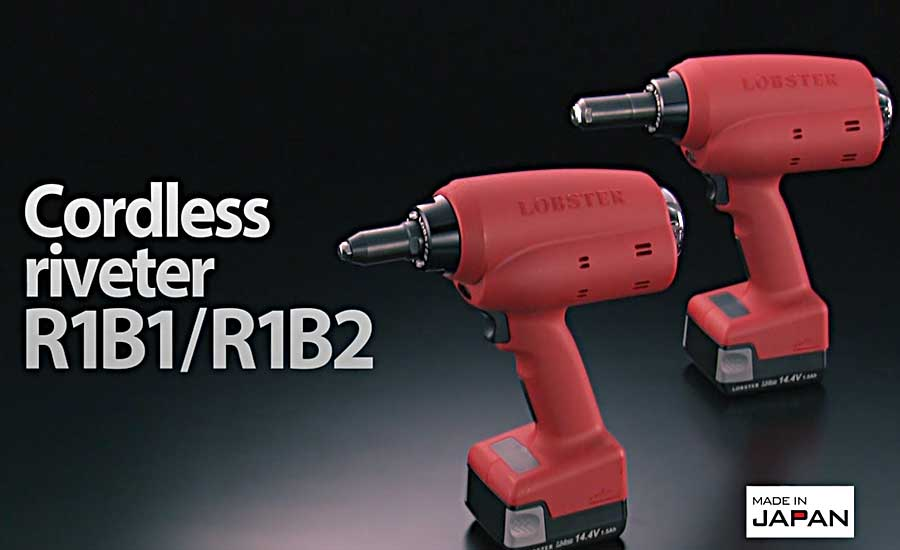 High-Speed Cordless Riveter