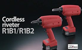 R1B1 and R1B2 cordless riveters