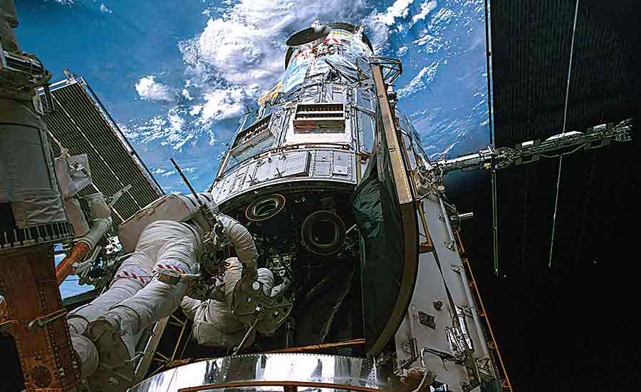 Remembering the Assembly--and Repair--of the Hubble Space Telescope