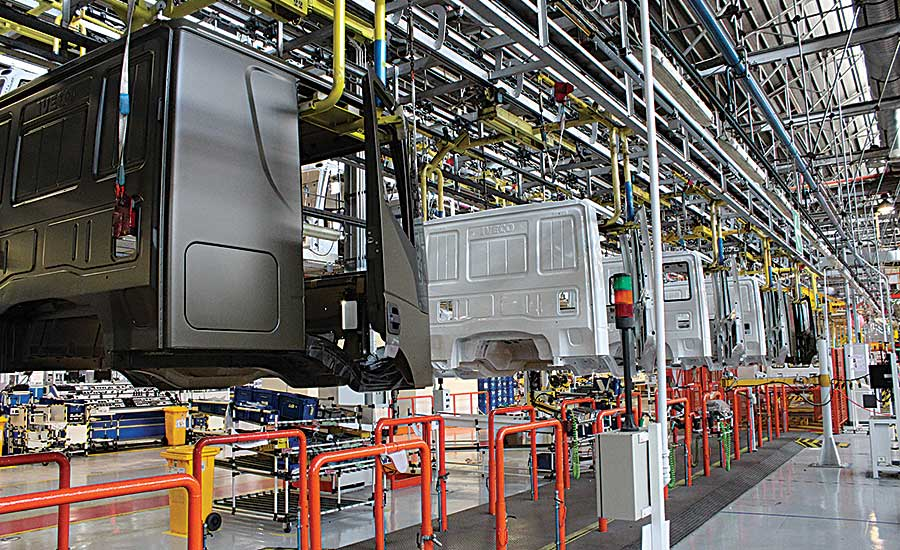 Exoskeletons Aid Assemblers at Truck Plant