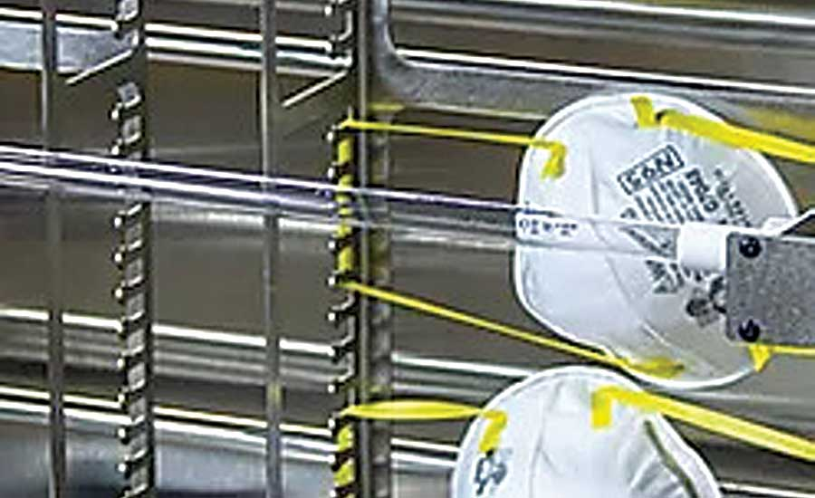 Decontamination Device Prevents N95 Mask Waste