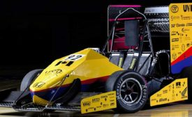3D-Printed Parts Rev Up the UVic Race Car