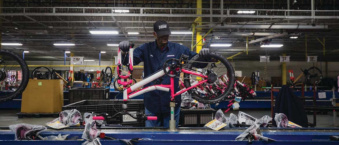 US Bike Manufacturers Ramp Up Assembly Lines