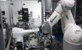 Robots Assemble Filters for Hospital Ventilators