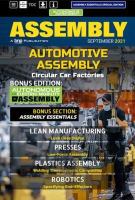 assembly september 2021