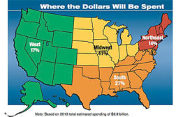 spending map