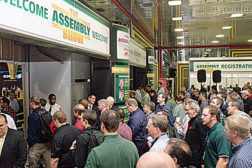 assembly show floor