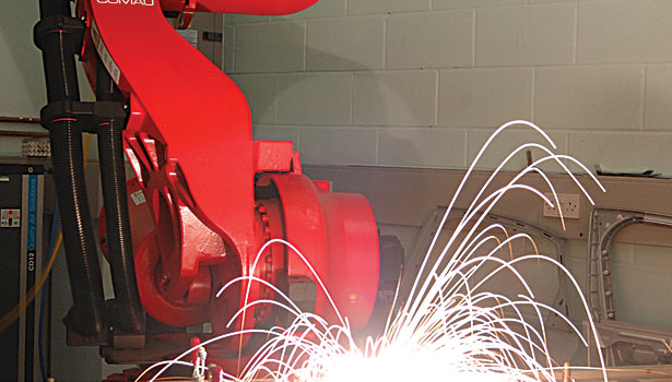 Diode lasers aluminum welding