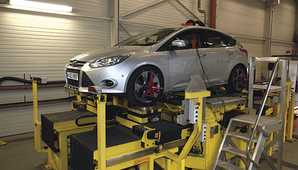 Vehicle dynamics testing