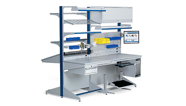 Ergonomic Assembly Workstation : Four steps to a more ergonomic workplace
