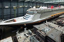 Cruise ships welding
