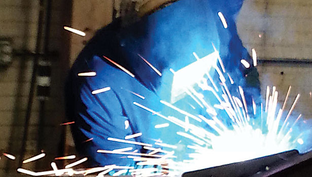 Real-world welding