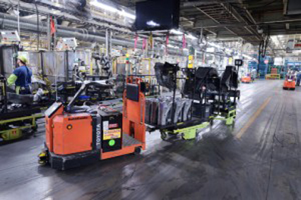 Toyota Plant Georgetown Ky >> Agvs Move Parts At Toyota S Kentucky Assembly Plant 2012