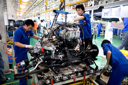 BYD manufacturing