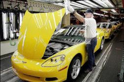 Corvette assembly line