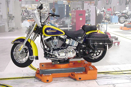 harley assembly line