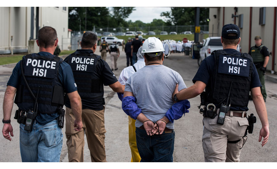 ICE Arrests 27 in Raid of North Carolina Assembly Plant | 2019-02-12
