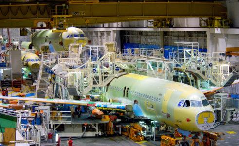 airbus manufacturing 900