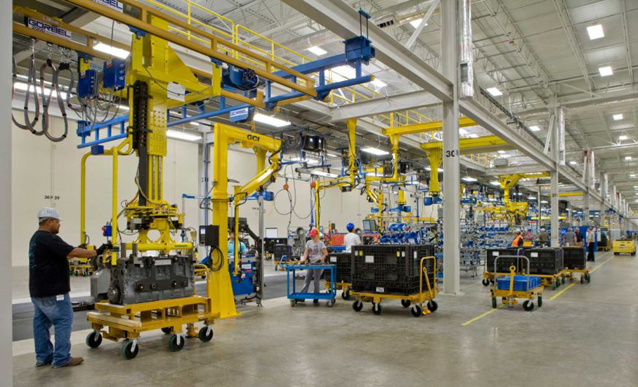 Caterpillar reshores production 2015 08 05 assembly for Motor oil manufacturers in usa