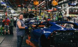 Corvette manufacturing