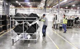 Electrolux manufacturing