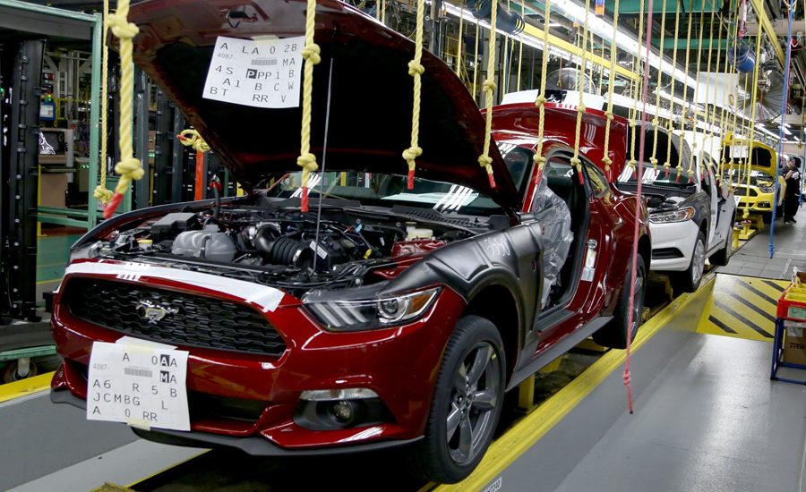 Ford to build 1 billion assembly plant in mexico 2016 for Motor city assembly line