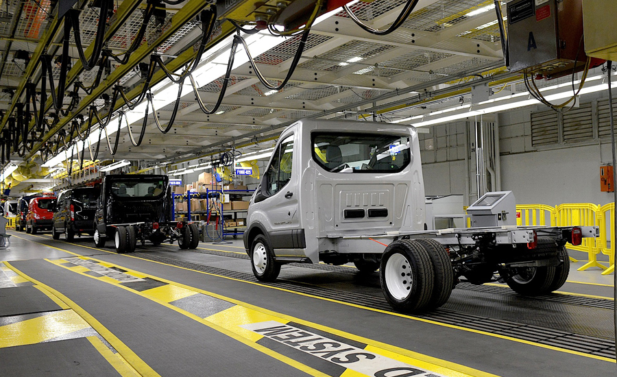 Ford van manufacturing