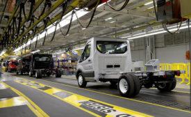Ford van manufacturing