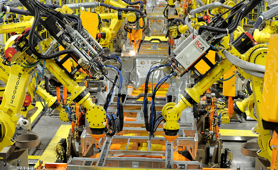 gm connects robots through the cloud