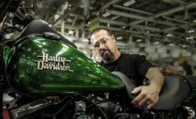 Harley Davidson manufacturing