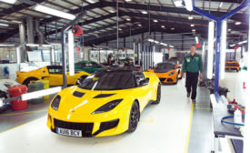 Lotus assembly line