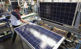 solar panel mfg