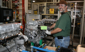 GM engine manufacturing