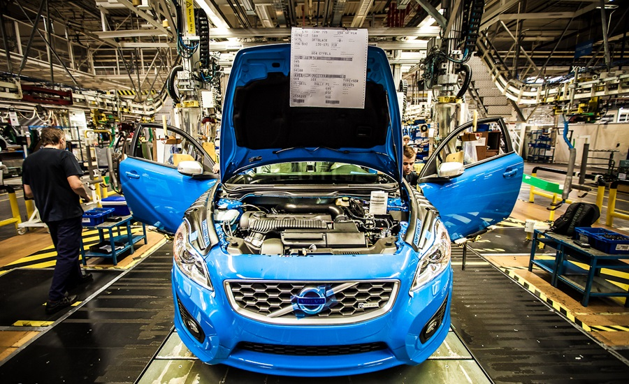 Volvo Plant Giving Swedish Auto Suppliers Hopes of ...