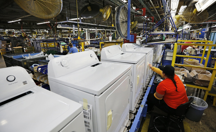 Whirlpool manufacturing